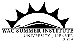 2019 WAC Summer Institute Logo